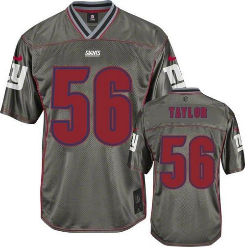 size 40 5bcea 118cb Nike New York Giants No.56 Lawrence Taylor Grey Stitched ...