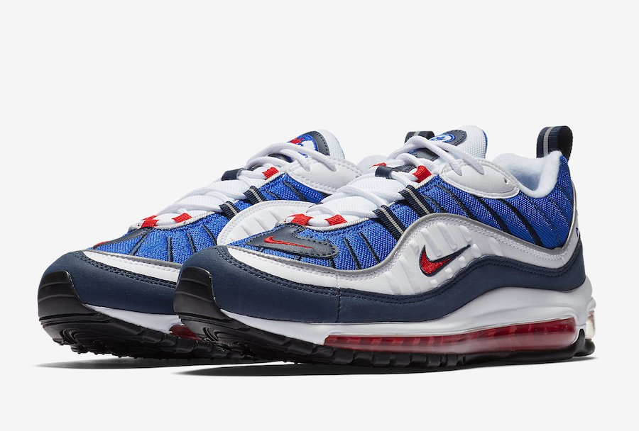 nike air max blauw wit heren