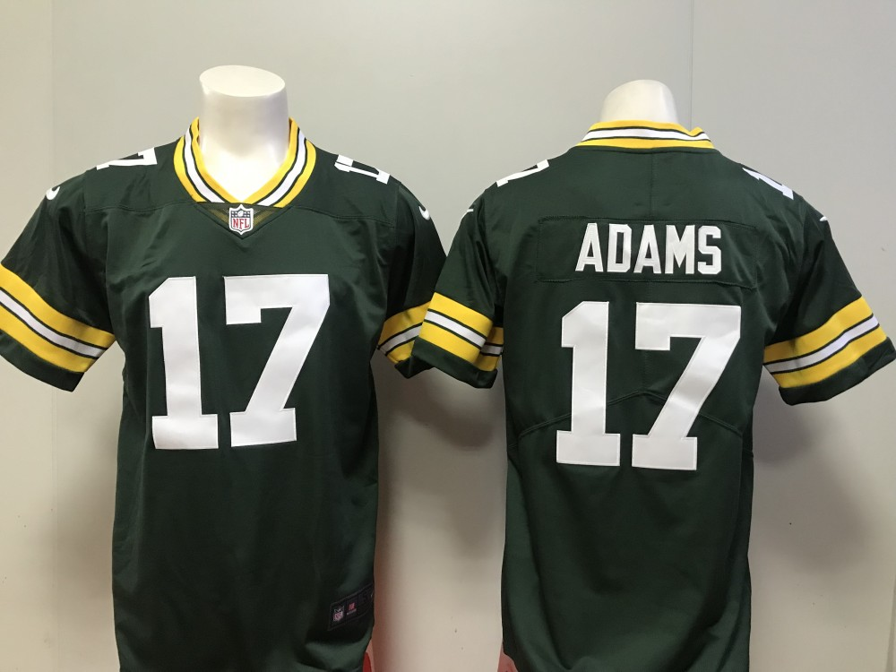 finest selection 7e589 c7d71 Nike Packers 17 Davante Adams Green Vapor Untouchable ...
