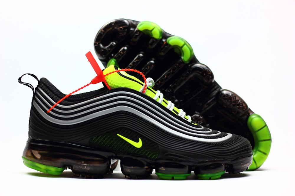 competitive price 53548 8112f Nike Air Max 97 Vapor Max Silver Black Green Shoes