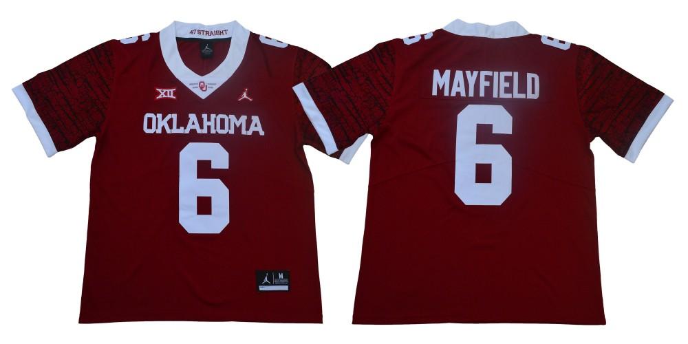 oklahoma football baker mayfield jersey