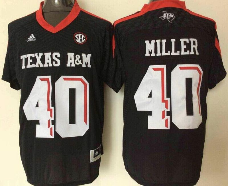 huge discount 86420 f6aa0 NCAA Texas A&M Aggies 40 Von Miller Black College Football ...