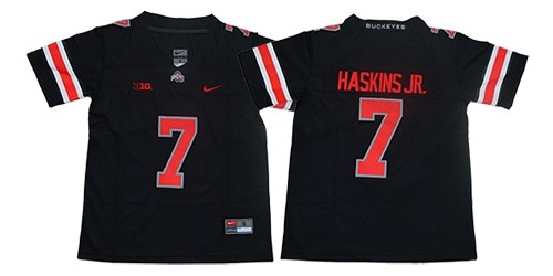 promo code 78d9d 076b6 NCAA Ohio State 7 Dwayne Haskins JR. Limited Black College ...