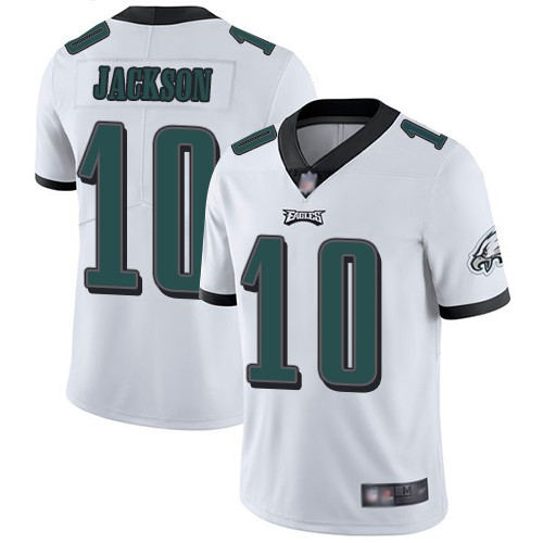 Nike Eagles 10 DeSean Jackson White Vapor Untouchable Limited Men ...