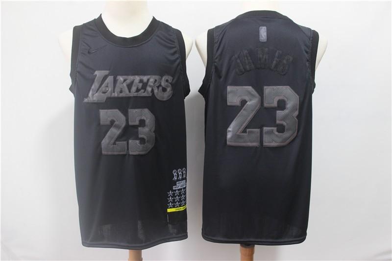 black lebron jersey