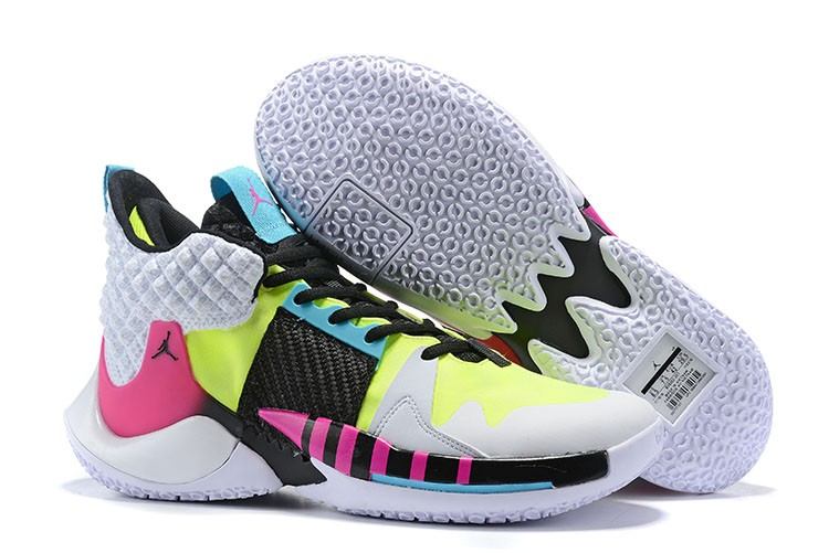 Not Zer0.2 White Pink Black Shoes