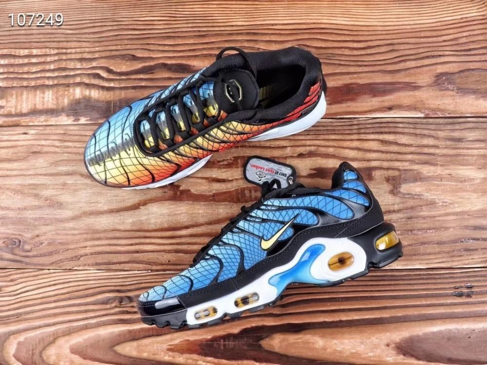 Nike Air Max Plus Txt Blue Orange Shoes