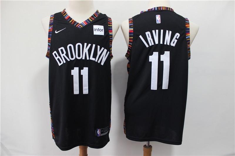 Brooklyn Nets Jeremy Lin City Edition Black Swingman Jersey