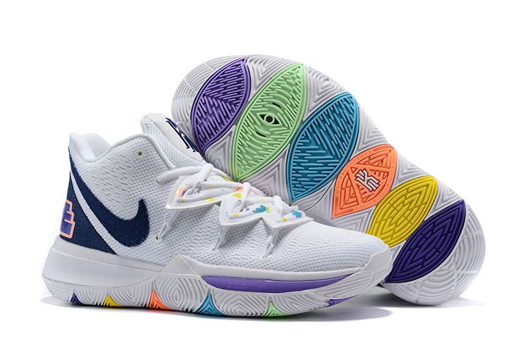 Nike Kyrie 5 White Smile Shoes