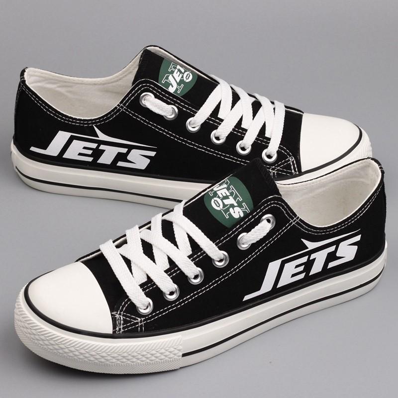 7b197fbe NFL New York Jets Repeat Print Low Top Sneakers 002