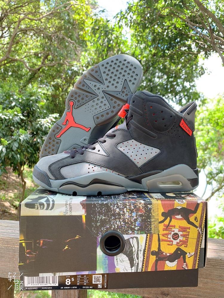 Marca comercial dispersión Hablar con  Air Jordan 6 Retro PSG Paris Saint-Germain Shoes