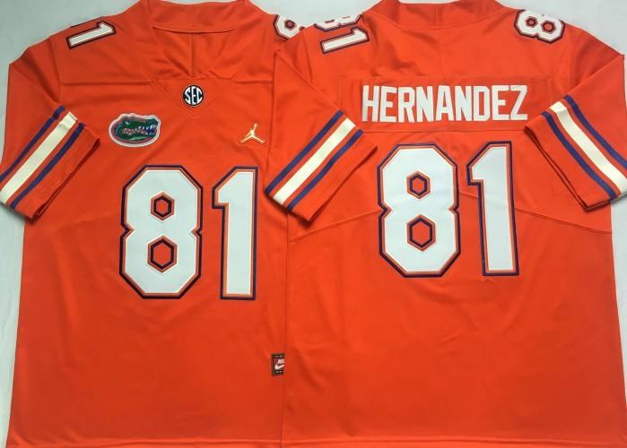 Aaron Hernandez Florida Gators Football Jersey - White