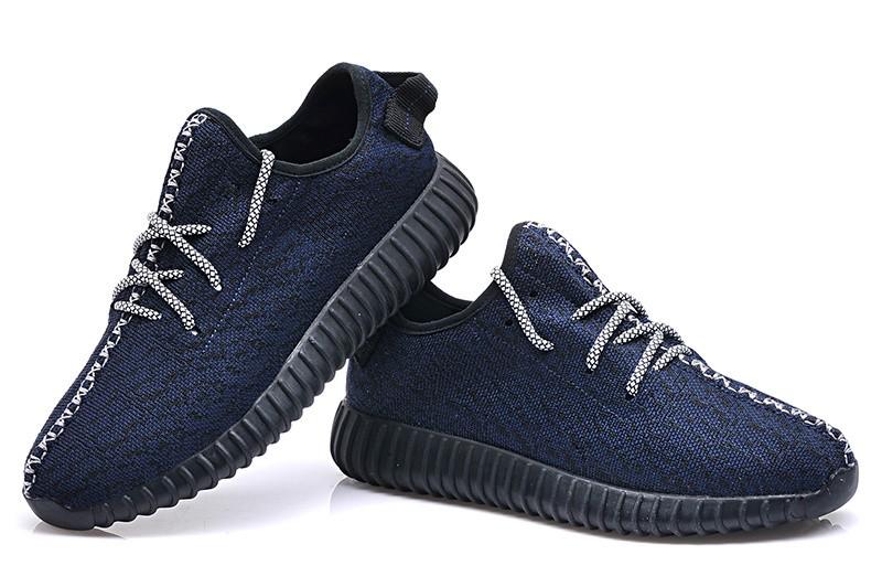 Adidas Yeezy Dark Blue Shoes