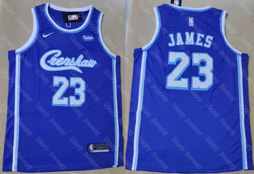 la lakers blue jersey