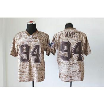 Nike Dallas Cowboys No.94 DeMarcus Ware Camo USMC Male Stitched Elite Jersey