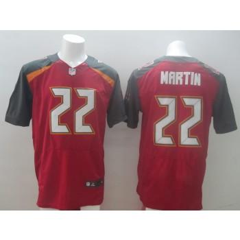 Nike Tampa Bay Buccaneers No.22 Doug Martin Red Elite Jersey