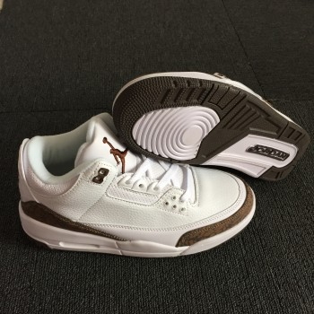 "competitive price 742ab cf2d7 Air Jordan 3 ""Mocha""White Shoes"