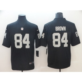 Nike Raiders 84 Antonio Brown Black Vapor Untouchable Limited Men Jersey