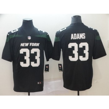 Nike Jets 33 Jamal Adams Black New 2019 Vapor Untouchable Limited Men Jersey