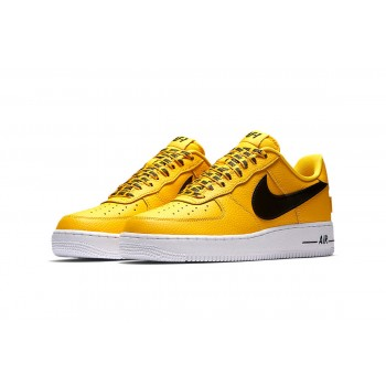 Nike Air Force 1 Low NBA Pack Yellow Shoes
