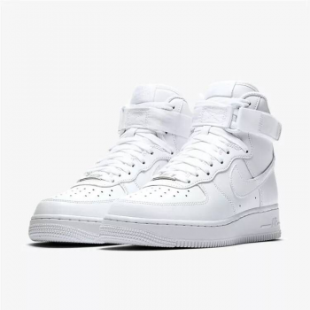 Nike Air force 1 AF1 High White Shoes