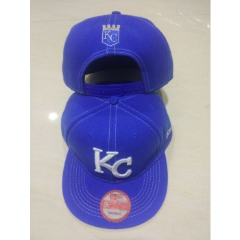 MLB Royals Logo Navy Adjustable Hat LT