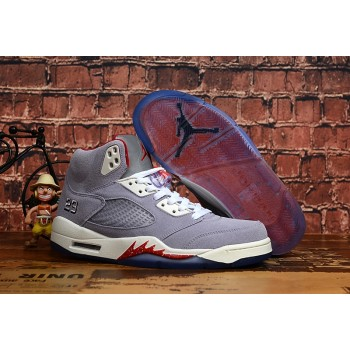 Trophy Room x Air Jordan 5 Ice Blue Sail Shoes