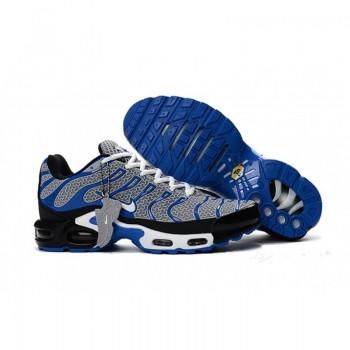 Nike Air Max Plus TN Ultra Light Grey Royal Blue White Shoes