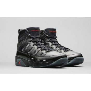 Air Jordan 9 Bred Black Shoes