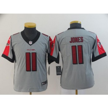 Nike Falcons 11 Julio Jones Inverted Legend limited Youth Jersey