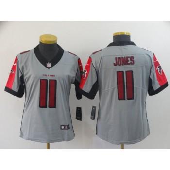 Nike Falcons 11 Julio Jones Inverted Legend limited Women Jersey