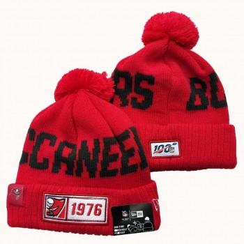 NFL Tampa Bay Buccaneers New Era 2019 Sideline Road Reverse Sport Knit Hats 010