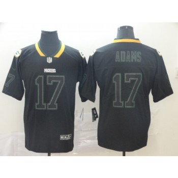 Nike Packers 17 Davante Adams Lights Out Black Limited  Men Jersey