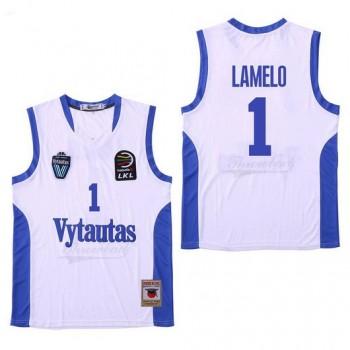 NCAA Vytautas 1 LaMelo Ball White Men Jersey