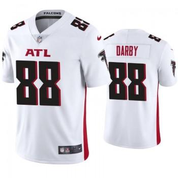 Nike Falcons 88 Frank Darby White Vapor Limited Men Jersey