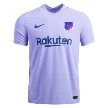 2021_22 Barcelona Purple Away Soccer Men Jersey