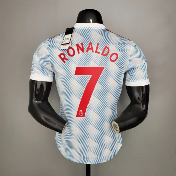 21_22 Manchester United 7 RONALDO Player Version Away Jersey PREMIRE LEAGUE NUMBER