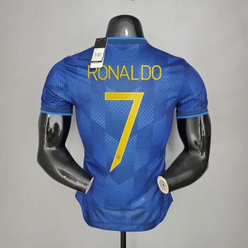 21_22 Manchester United 7 RONALDO Player Version Third Jersey CHAMPIONS LEAGUE NUMBER