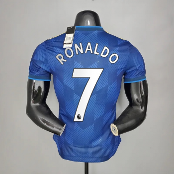21_22 Manchester United 7 RONALDO Player Version Third Jersey PREMIRE LEAGUE NUMBER