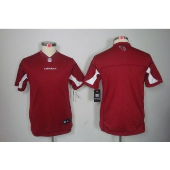 Nike Arizona Cardinals Blank Red Youth Embroidered Jersey