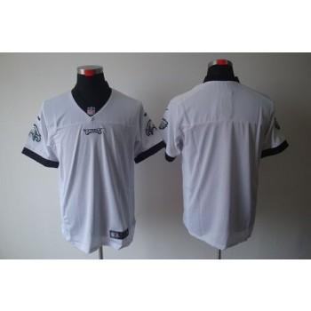 Nike Philadelphia Eagles Blank White Elite Jersey