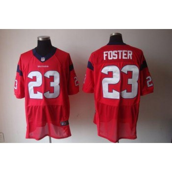 Nike Houston Texans No.23 Arian Foster Red Elite Stitched Football Jersey