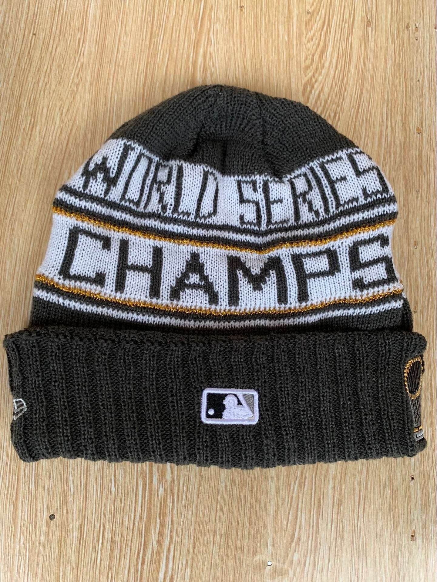 MLB Red Sox 2018 World Series Champions Knit Hat YD - MLB Hats - Hat ... bf432bf1e88