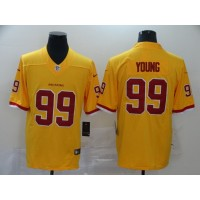 Quick-Drying And Breathable 99 Chase Young White Game Jersey American Football Jersey Washington MenS Basketball White-Yellow-Black