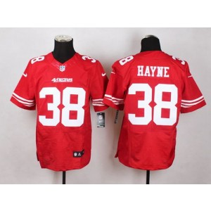 1032c2937 Nike 49ers 38 Jarryd Hayne Red Team Color Men Stitched NFL Elite Jersey