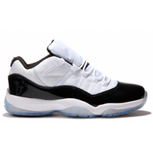 Air jordan 11 Retro Low White Black-Dark Concord ( Men Women GS Youth Girls)