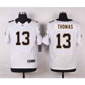 NFL Nike Saints 13 Michael Thomas White Men Elite Jersey