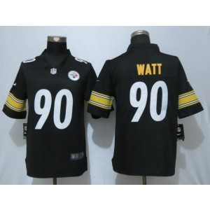 Nike Steelers 90 T.J. Watt Black Vapor Untouchable Limited Men Jersey