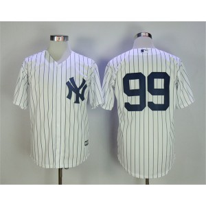 Yankees 99 Aaron Judge White Cool Base Jersey