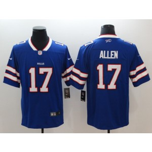 NFL Buffalo Bills 17 Josh Allen Nike Royal Vapor Untouchable Limited Men Jersey